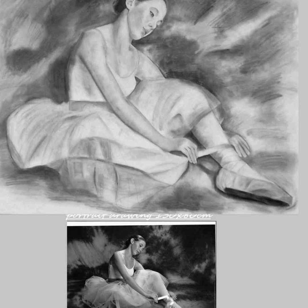 arte ritratti foto pittura commissione