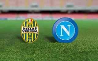 Serie A: verona  napoli  probabili formazioni