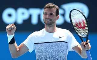 Tennis: tennis grand slam dimitrov del potro