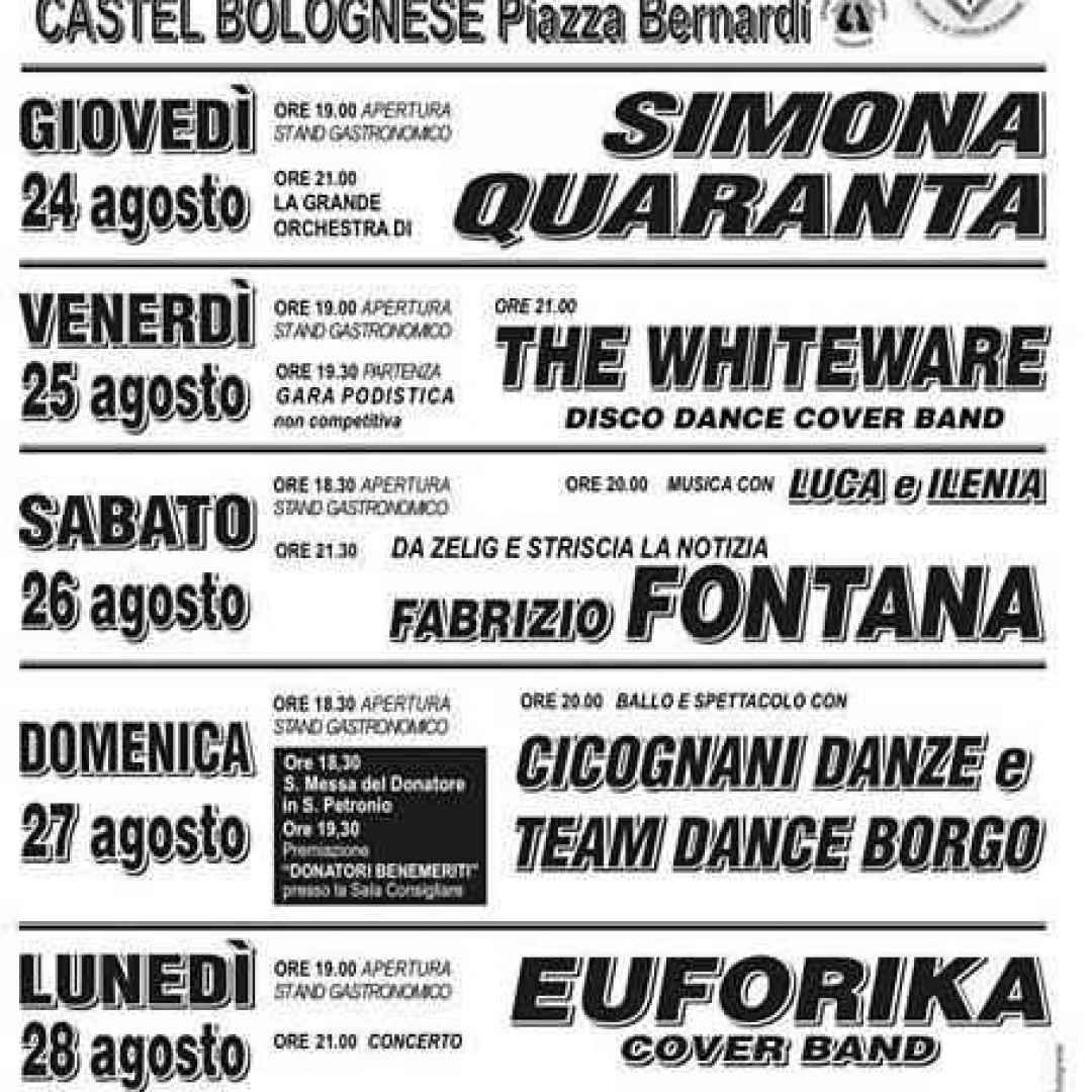 castel bolognese  avis  festival