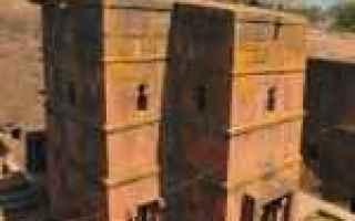 Cultura: angeli  chiese  etiopia  lalibela