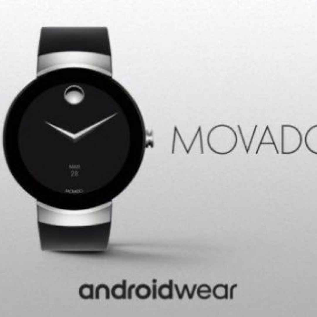 smartwatch  android wear  movado