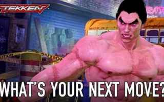 Mobile games: tekken  picchiassero  coin op  videogame  android  ios