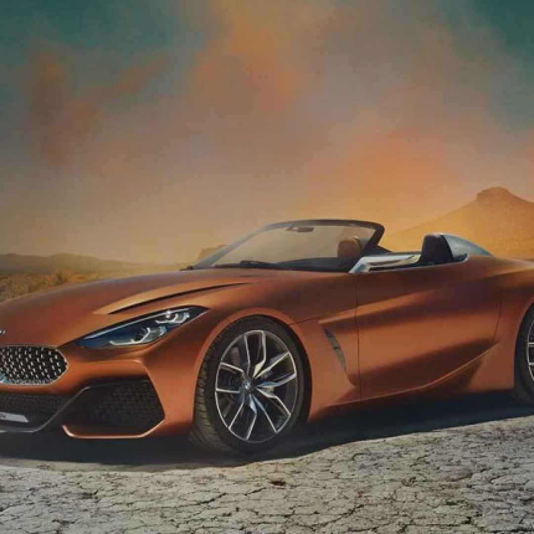bmw  roadster  concept