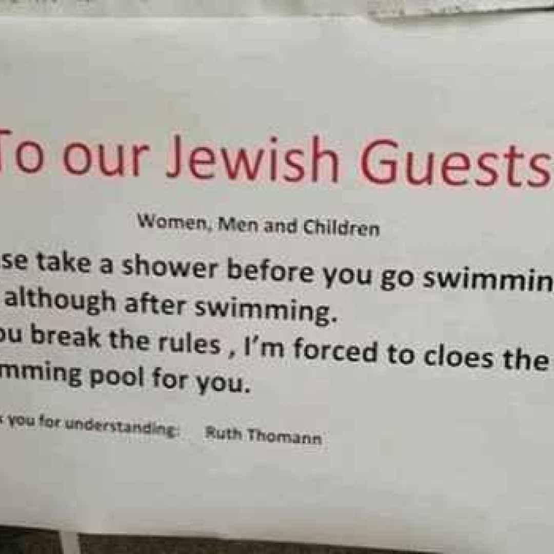 razzismo  maleducazione  antisemiti