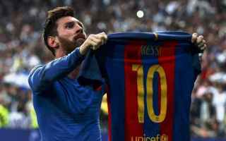 Calcio: hacker  real madrid  messi