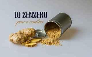 Alimentazione: benefici  zenzero  salute