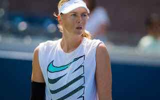 Tennis: sharapova  us open  tennis