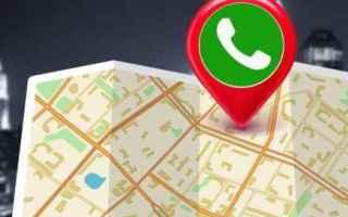 Social Network: whatsapp  gps  posizione