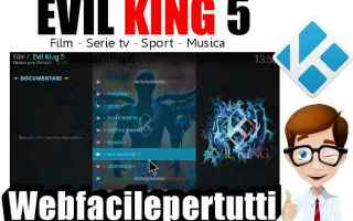 Software Video: kodi  evil king  addon