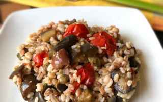 Ricette: primi  cereali  food
