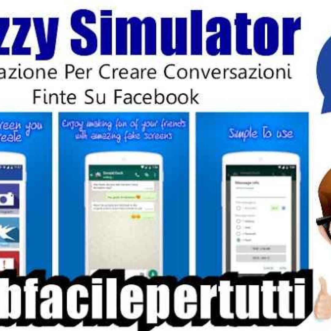 chat false facebook app