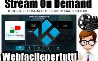 Serie TV : stream on demand  kodi  addon  aggiornament