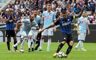 Serie A: inter  spal  serie a  video gol