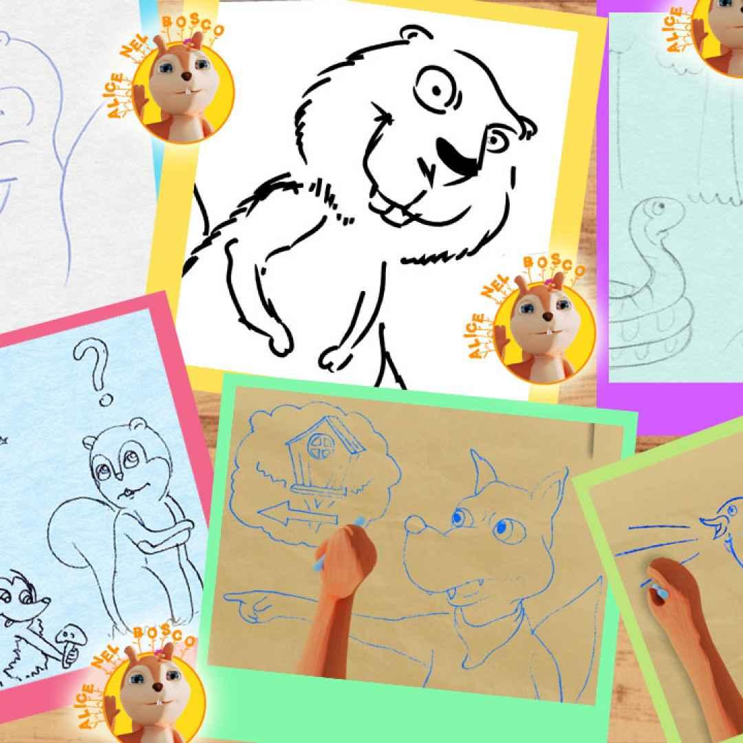 cartoni animati  bambini  reportage