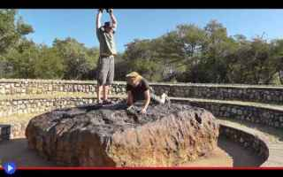 Astronomia: meteorite  spazio  pietre  namibia
