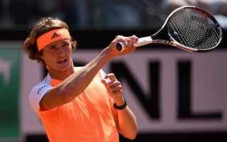 Tennis: tennis grand slam zverev roma