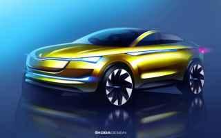 Automobili: skoda  francoforte  auto elettrica