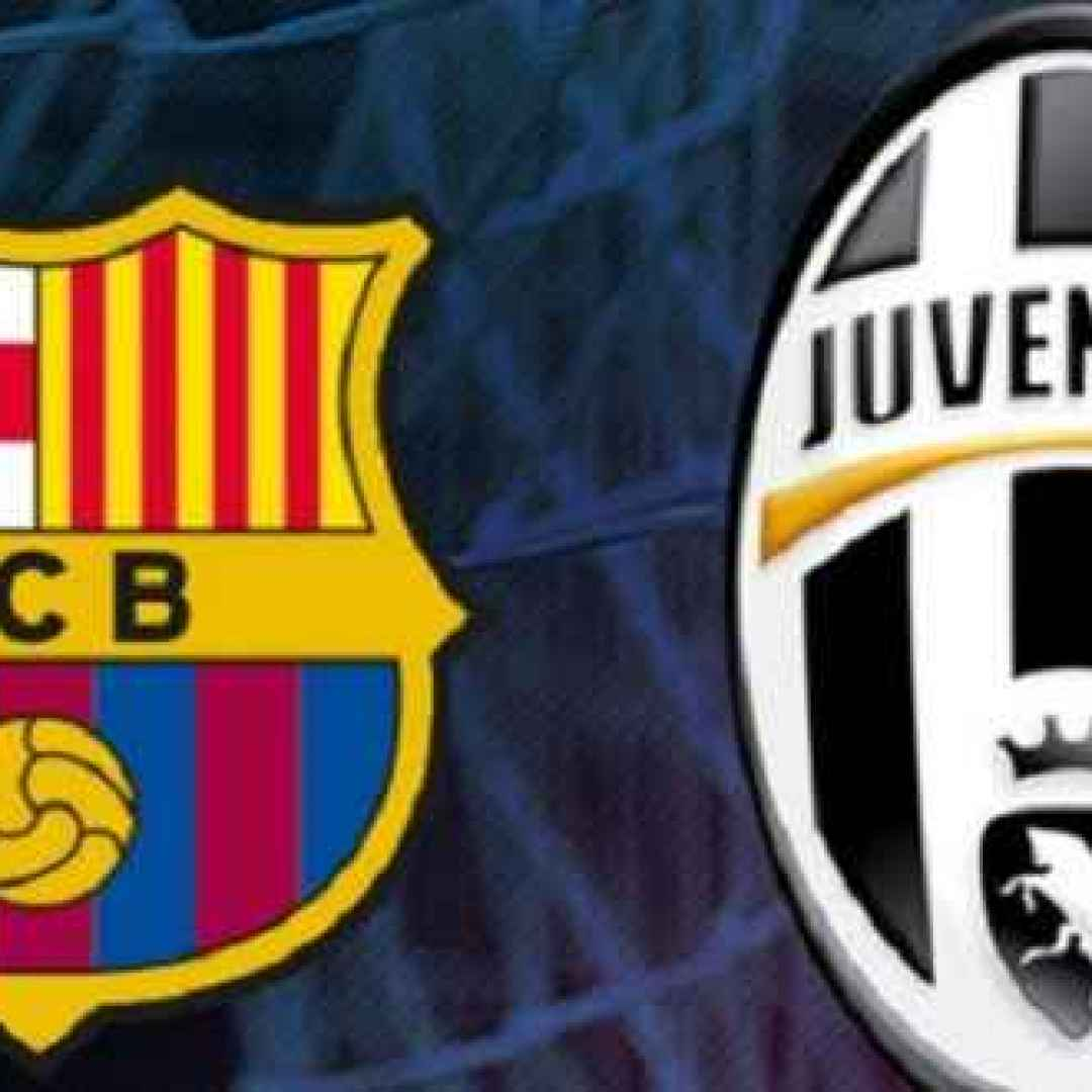 juventus  barcellona  champions league