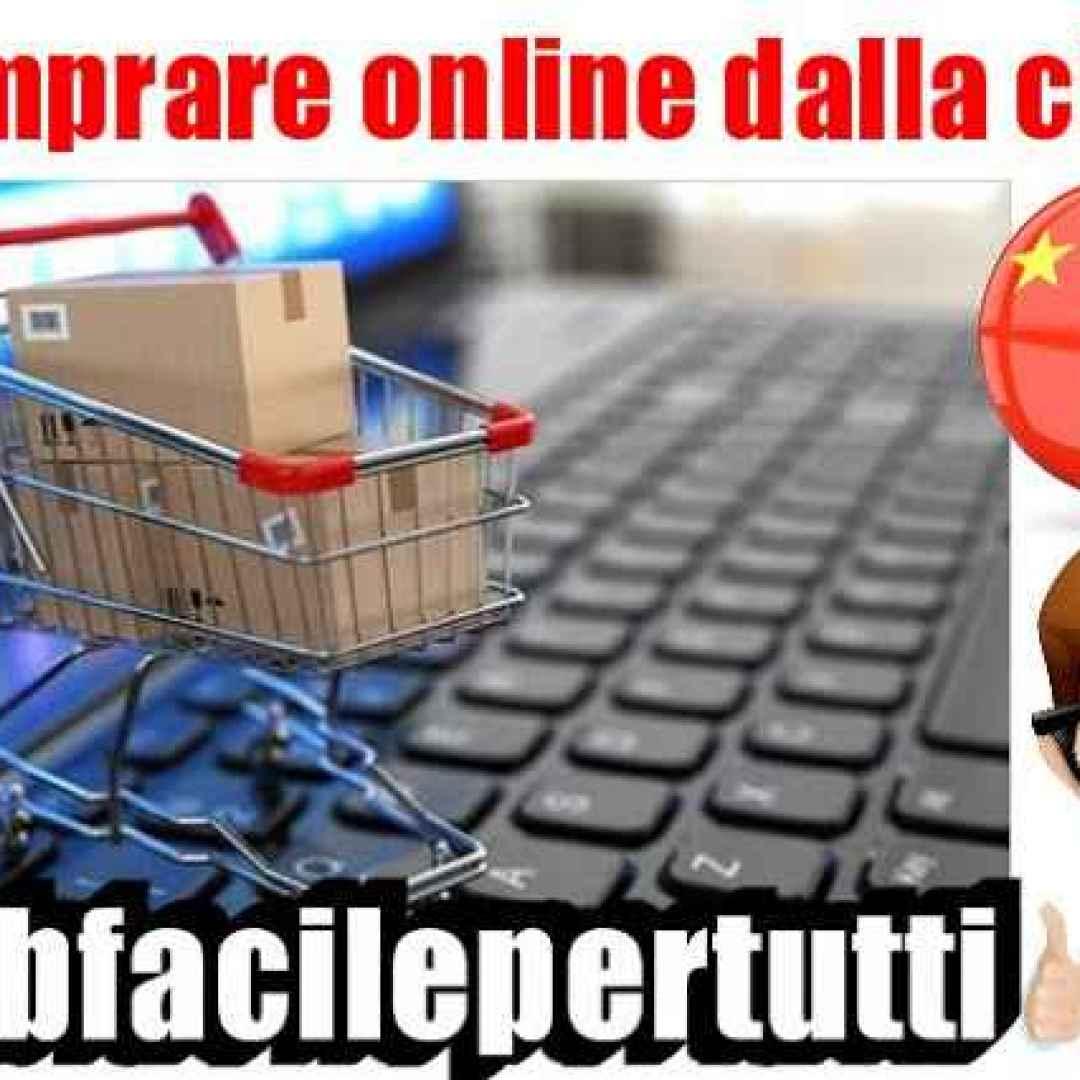 comprare  online  cina