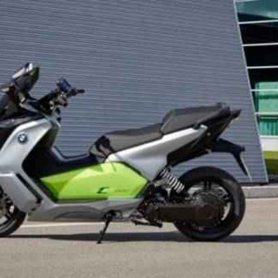 bmw  moto elettrica