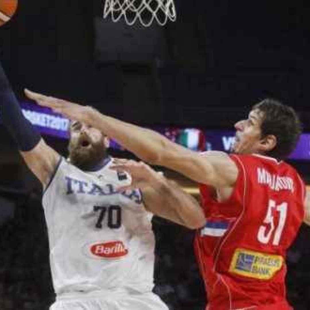 eurobasket  italia  europei  serbia