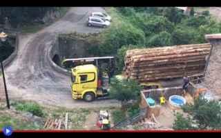 Automobili: trasporti  camion  guida  francia  ponti