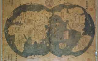 Storia: zheng he  1418  america  cina  mappa