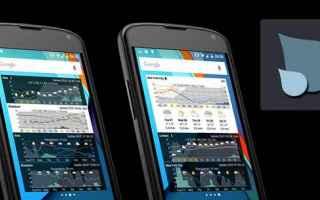 App: meteo  android  widget  previsioni