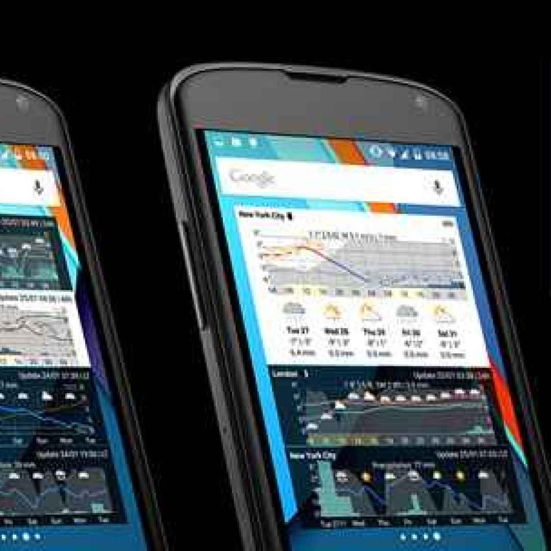 meteo  android  widget  previsioni