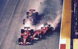 Formula 1: ferrari  singapore  incidente  verstappe