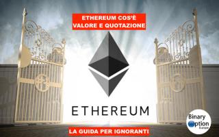 Soldi Online: ethereum  criptovalute