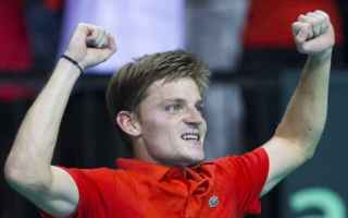 Tennis: tennis grand slam coppa davis belgio