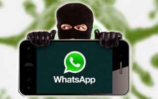 Sicurezza: whatsapp  truffe