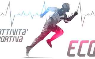 Sport: sport palestra ecg elettrocardiogramma