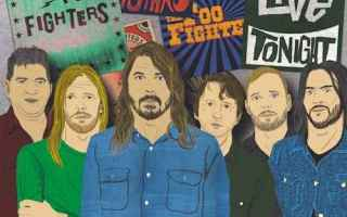 Musica: rock  foo fighters  concrete and gold