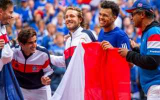 Tennis: tennis grand slam davis finale lille