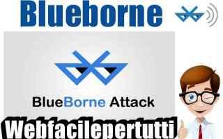 Sicurezza: blueborne malware