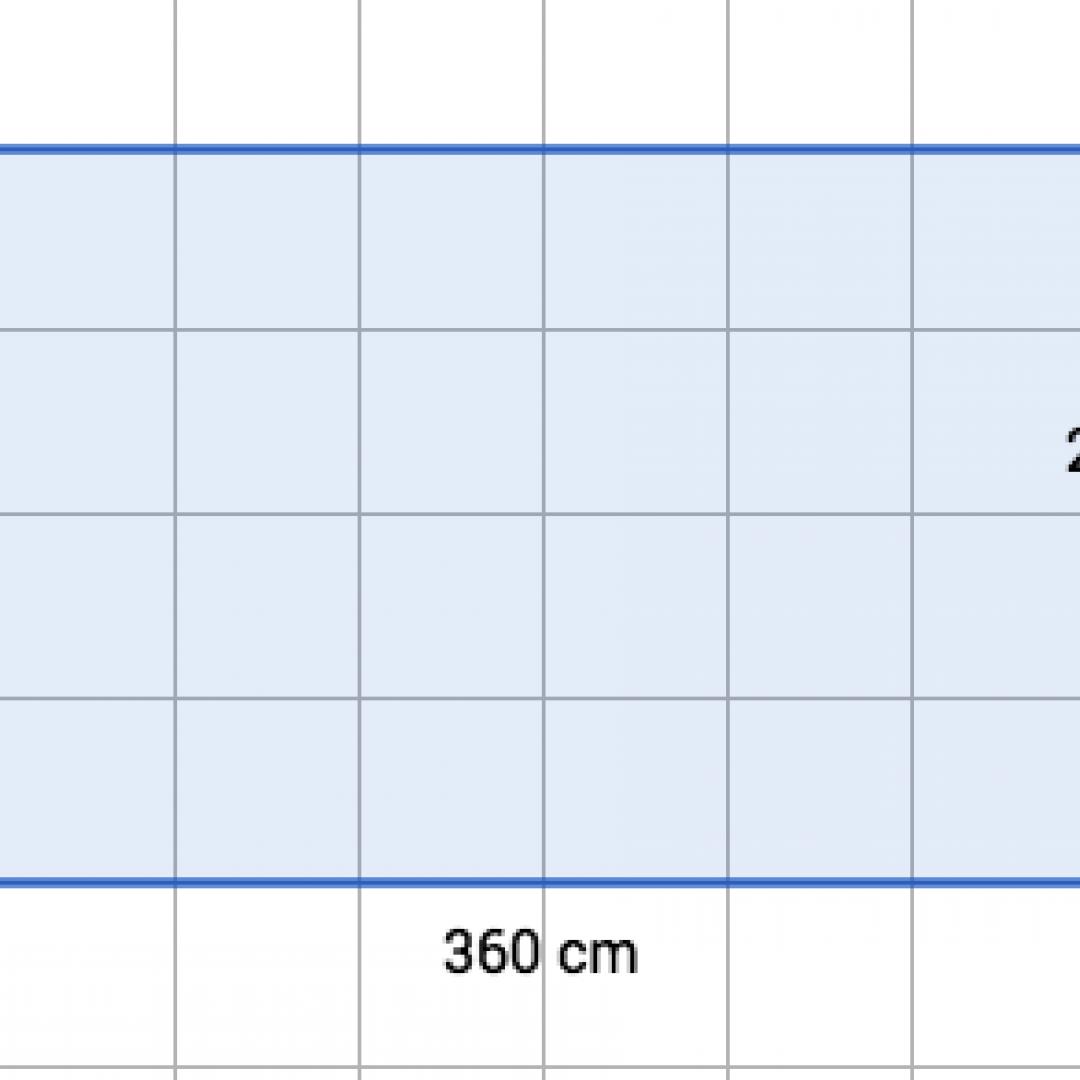 Problema svolto con applicazione del M.C.D.: come piastrellare una superficie col minor numero possibile di piastrelle?