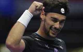 Tennis: tennis grand slam fognini finale