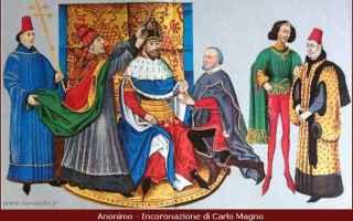 Storia: biografia  carlo magno  imperatore