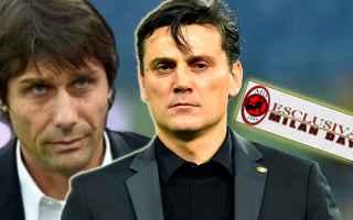 Calcio: montella  ac milan  conte  allenatore
