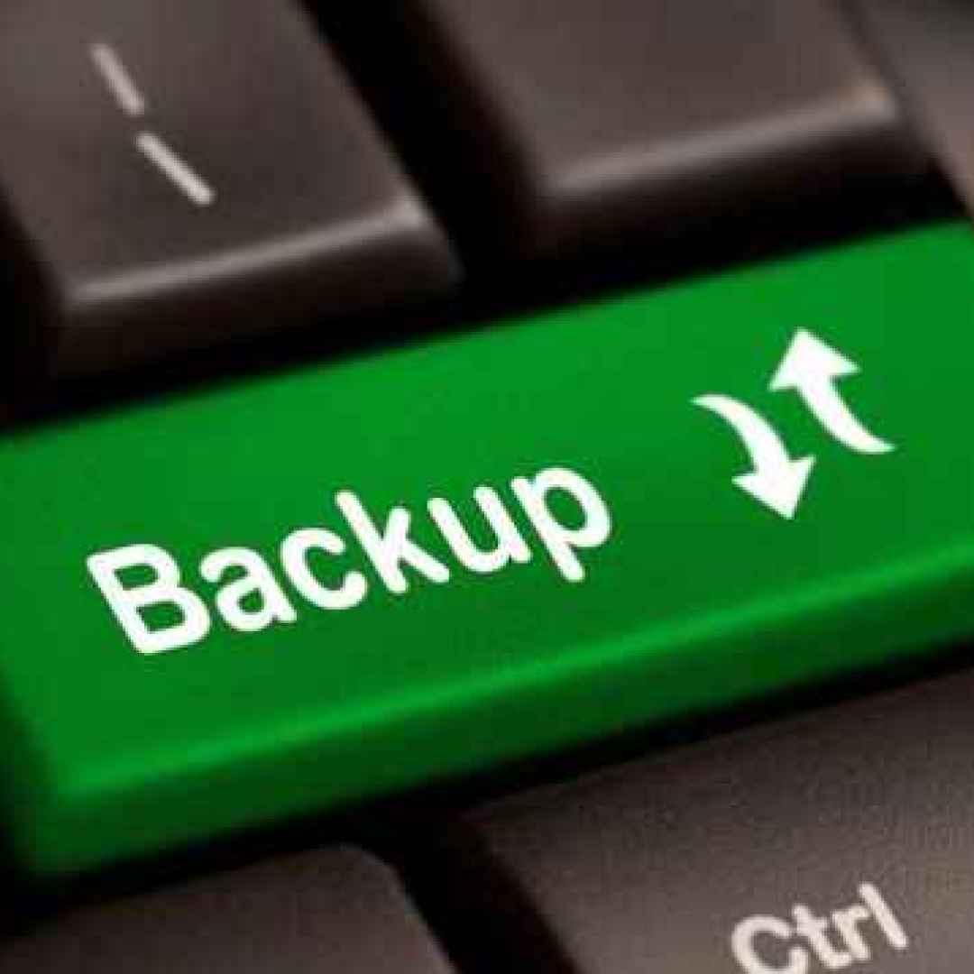 backup  sito web