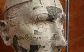 Arte: cartapesta  carnevale  colla di farina