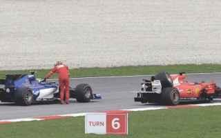 Formula 1: formula 1  incidente  vettel  stroll