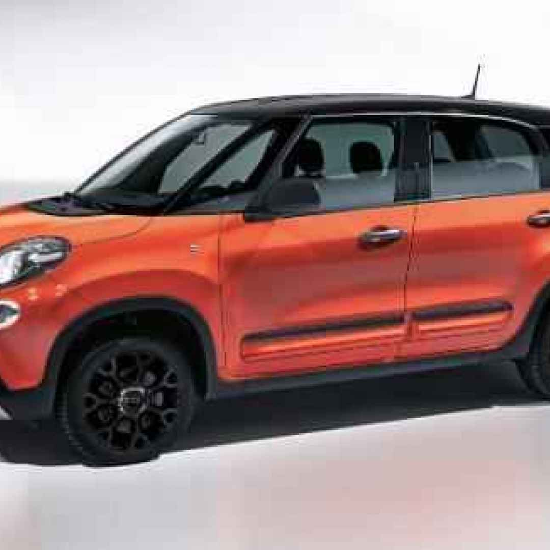 fiat 500l city cross  auto  crossover
