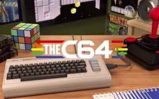 Console games: videogames  retro  consolle  commodore  commodore 64  c64 mini  the c64 mini
