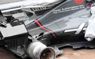Formula 1: formula 1  incidenti  malesia  haas