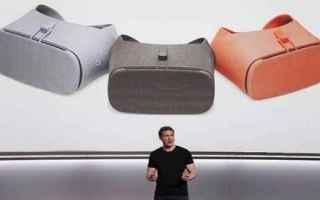 Gadget: google  vr  cuffie  videocamera