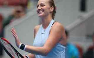 Tennis: tennis grand slam pechino kvitova